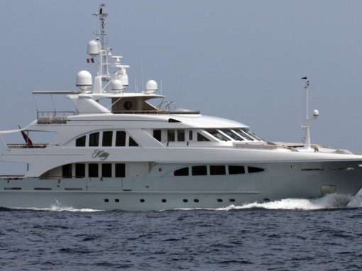 40m Motor Yacht – Kitty